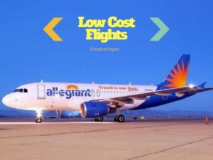 Low Cost Flights {Pros & Cons Of Booking}