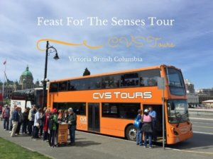 Feast For The Senses Tour In Victoria BC