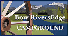 Bow Rivers Edge Campground logo