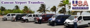 USA Transfers In Cancun Mexico {Review}