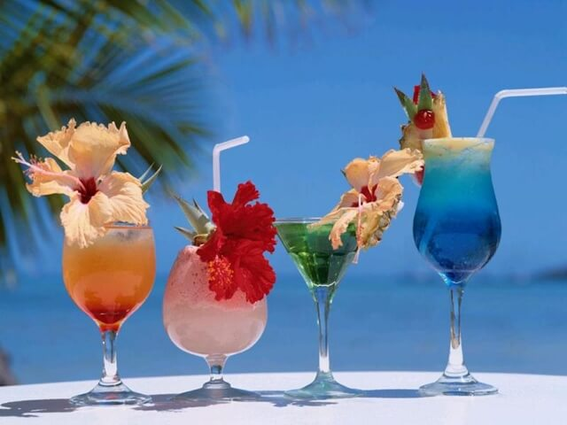 All Inclusive Resort Cocktails