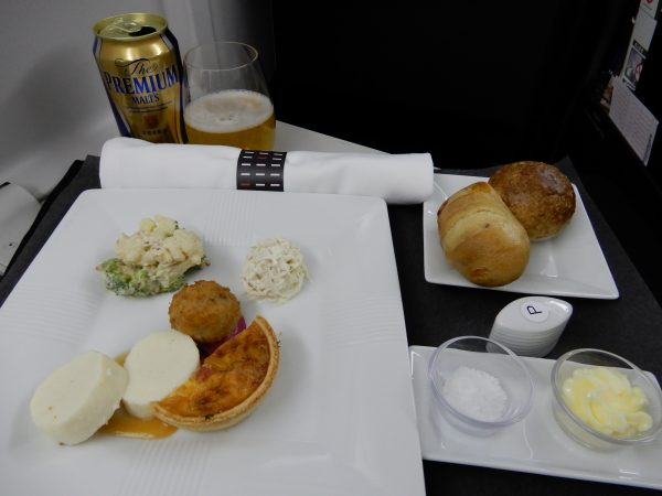 JAL 777-200 Business Class Meal