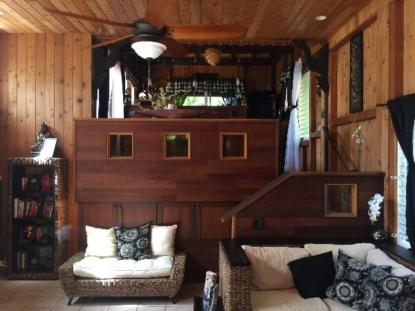 The Bali House & Cottage Living Room